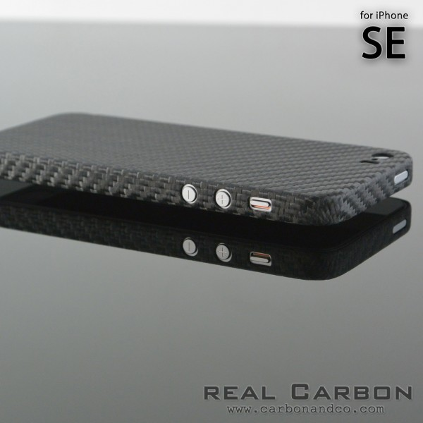 Carbon Cover iPhone SE 2016