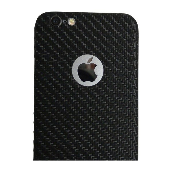 Carbon Cover iPhone 6 z Logo Window