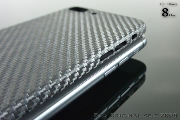 Magnetic Carbon Cover iPhone 8 Plus