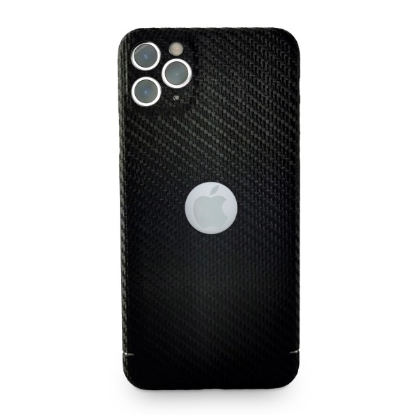 Carbon Cover iPhone 11 Pro Max z Logo Window