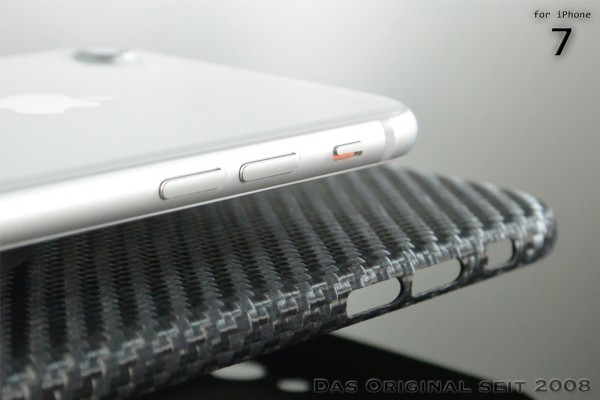 Magnetic Carbon Cover iPhone 7