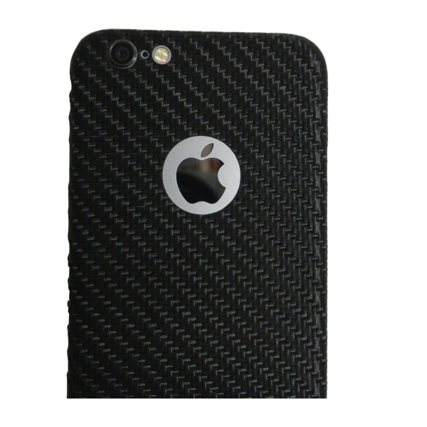 Carbon Cover iPhone 6 Plus z Logo Window