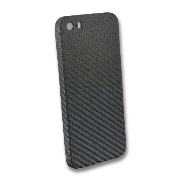 Carbon Cover iPhone SE 2016 z Logo Window